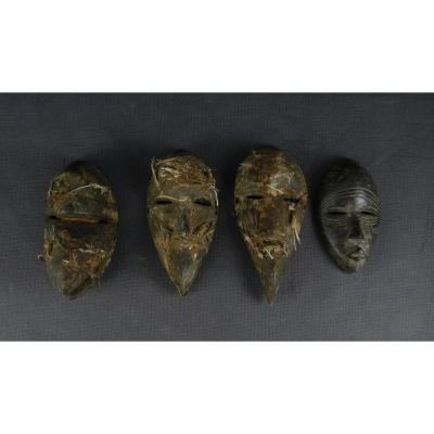 Masquettes Apotropaïques - Dan - Côte d'Ivoire