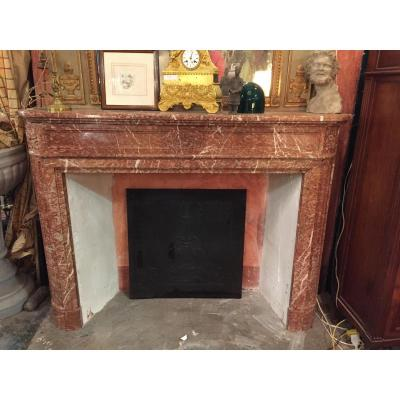 Marble Fireplace Louis XVI Style