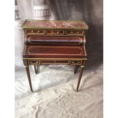 Cylinder Desk Louis XVI Style