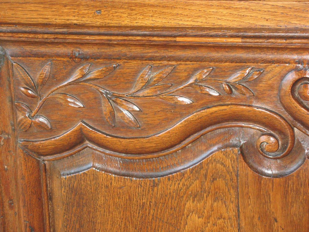 Regency Period 2-body Buffet In Carved Oak-photo-1