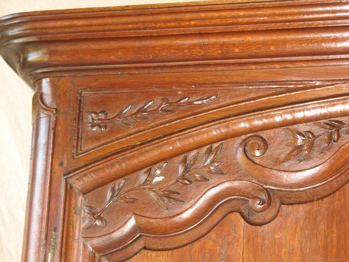 Regency Period 2-body Buffet In Carved Oak-photo-2