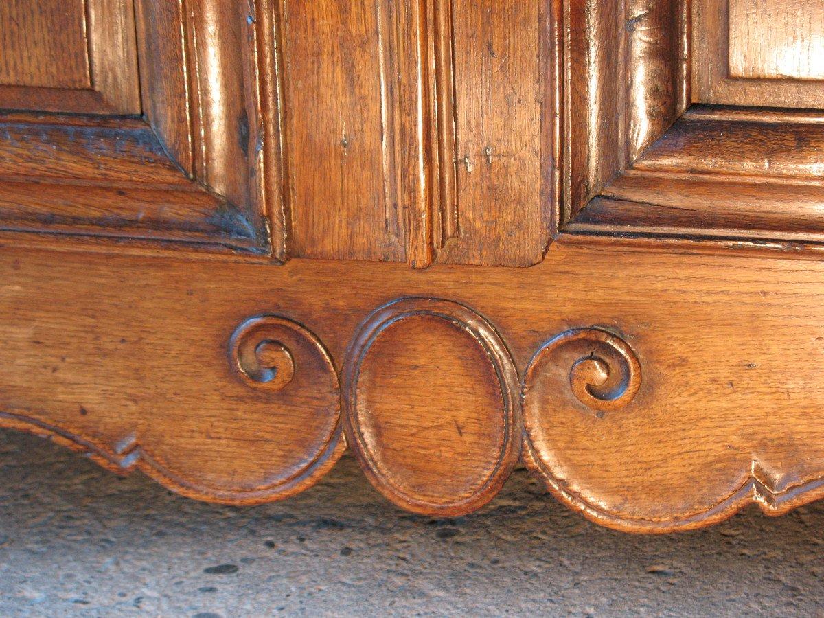 Regency Period 2-body Buffet In Carved Oak-photo-5