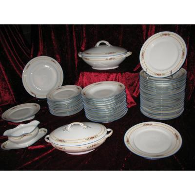 Art Deco Limoges Porcelain Table Service