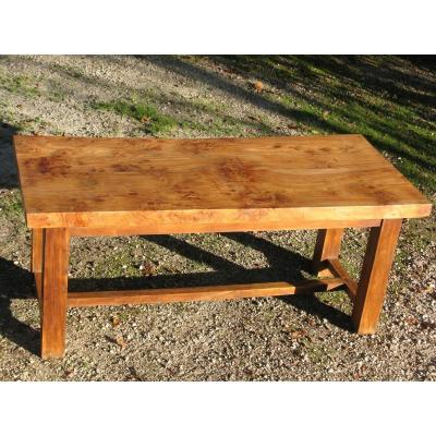 Very Solid Solid Elm Farm Table