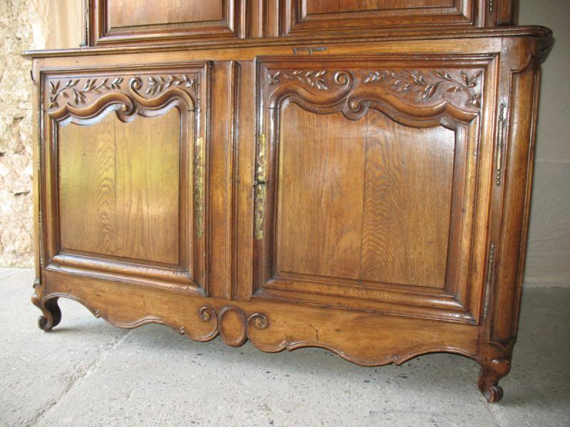 Regency Period 2-body Buffet In Carved Oak-photo-3