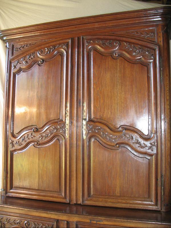 Regency Period 2-body Buffet In Carved Oak-photo-4