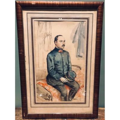 Portrait De Militaire