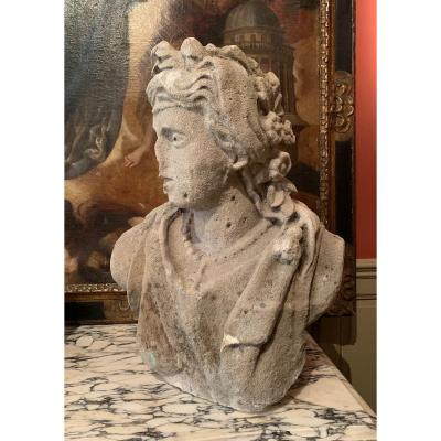 Bust Of Young Woman In Stone XVII °