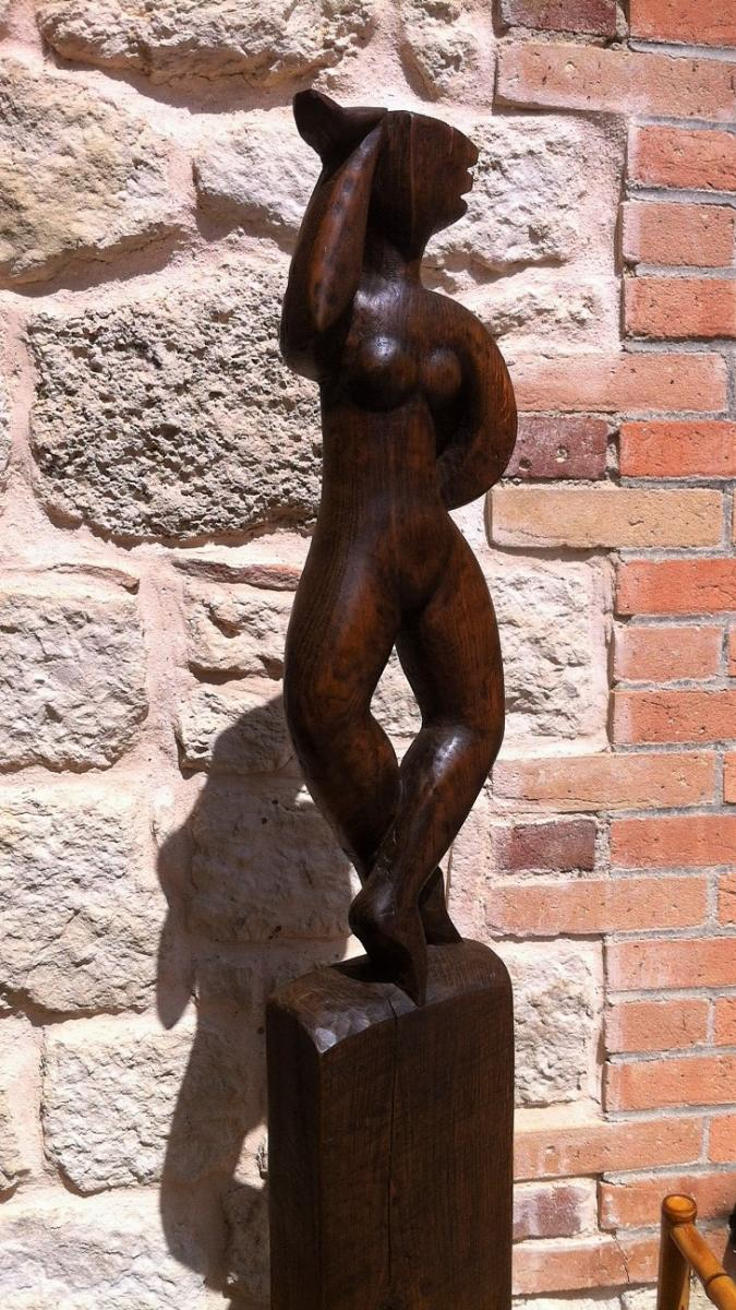 Sculpture Art Déco signée Henri Rey