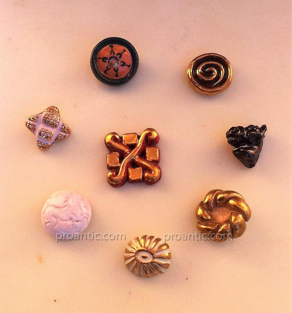 Boutons de Collection en Céramique