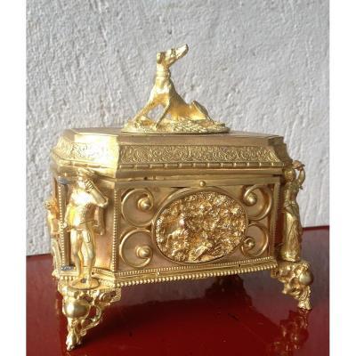 Coffret XIXème Bronze