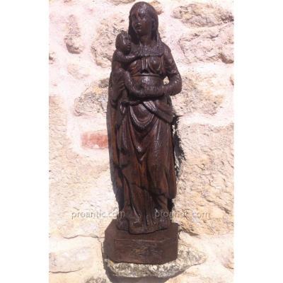 Vierge à l'Enfant Fin Du XVI