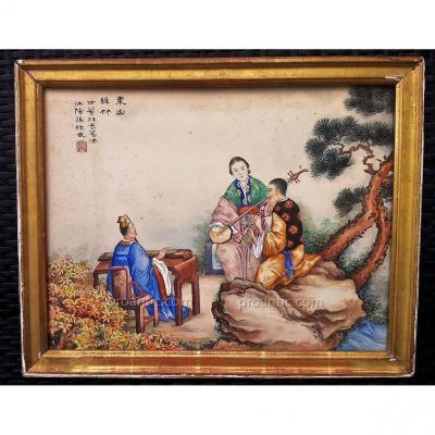 Gouache et Encre de Chine