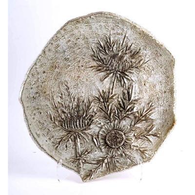 Large Vallauris Ceramic - Signed Marius Bessone - XXth Century