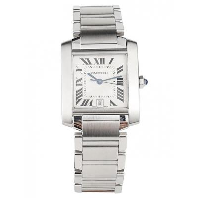 Cartier Watch - Large French Tank Man - Automatic / Steel