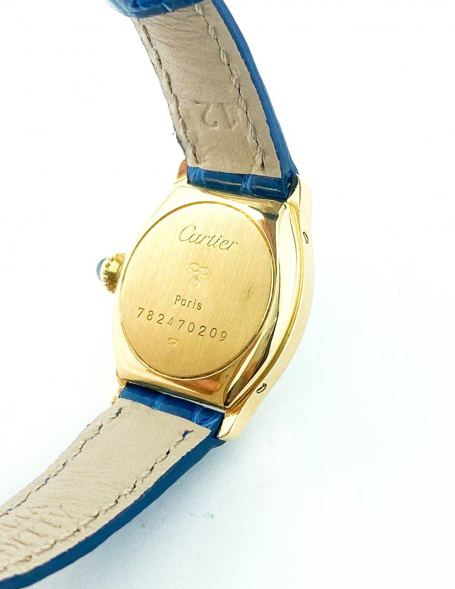Cartier Tortue Watch - 18k Yellow Gold-photo-1