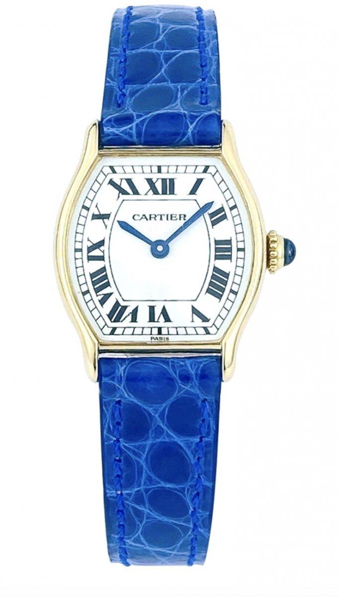 Cartier Tortue Watch - 18k Yellow Gold