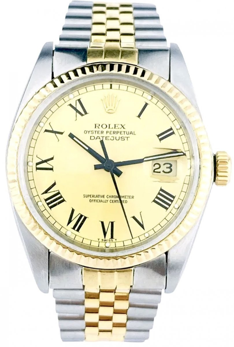 Rolex Watch - Oyster Perpetual Datejust 36mm - Ref. 16013 Buckley Dial