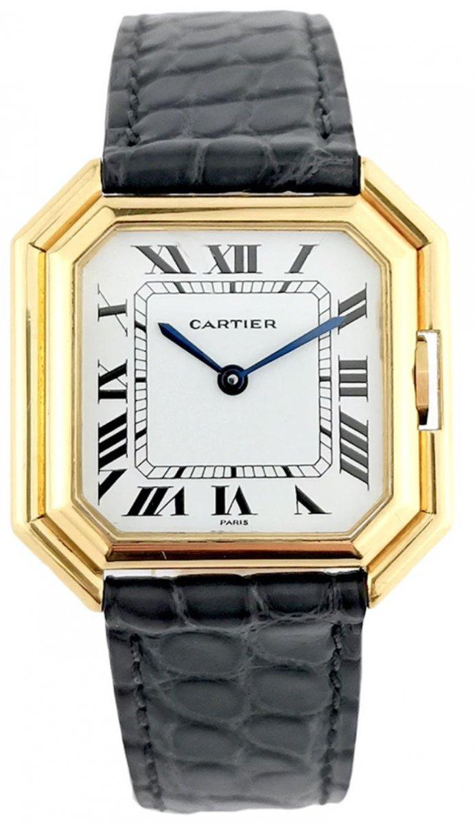Montre Cartier - Ceinture Jumbo (XL) - Automatique - Or Jaune