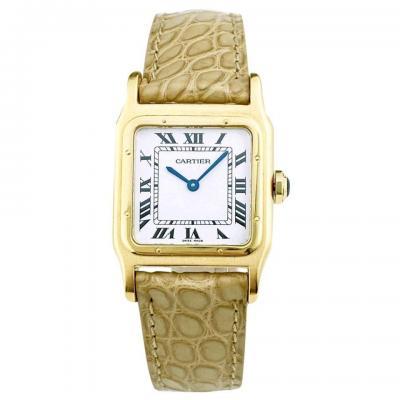 Montre Cartier Santos Dumont Vintage Or Jaune