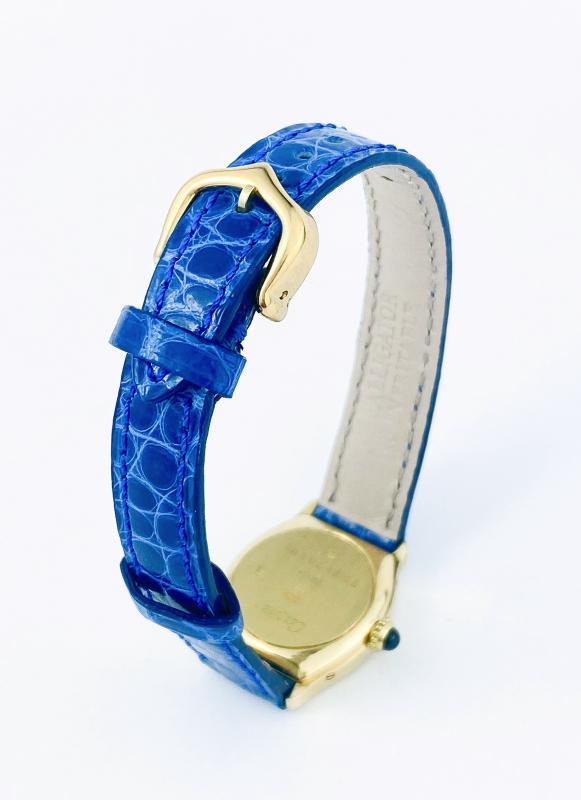 Cartier Tortue Watch - 18k Yellow Gold-photo-4