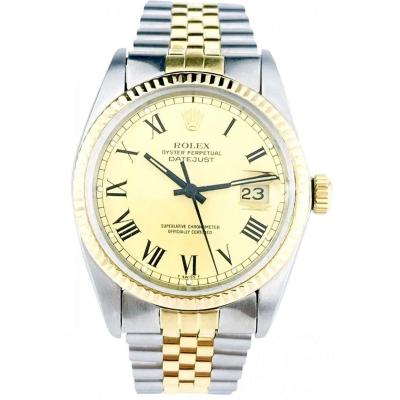 Montre Rolex - Oyster Perpetual Datejust 36mm - Ref. 16013 Buckley Dial