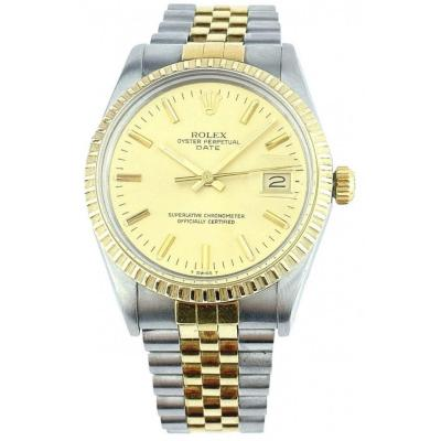 Rolex Watch - Oyster Perpetual Date 34mm - Ref. 15053 - Full Set