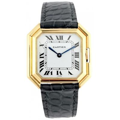 Montre Cartier - Ceinture Jumbo (XL) - Automatique - Or Jaune