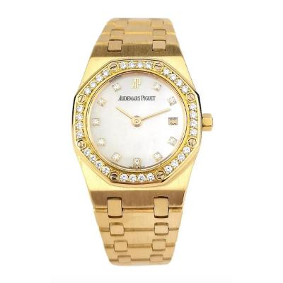 Audemars Piguet - Royal Oak Lady - Yellow Gold Diamonds