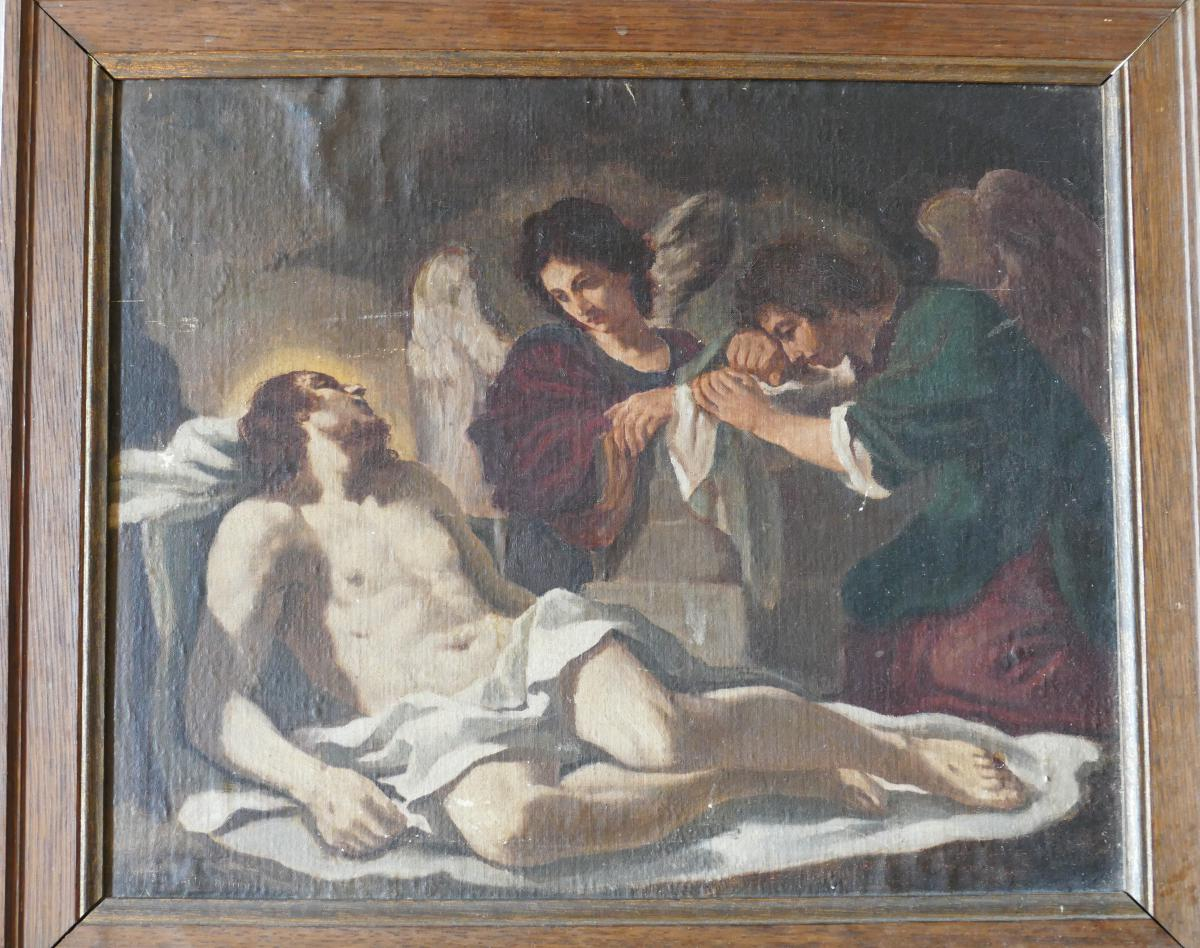 Angels Crying On The Death Of Christ