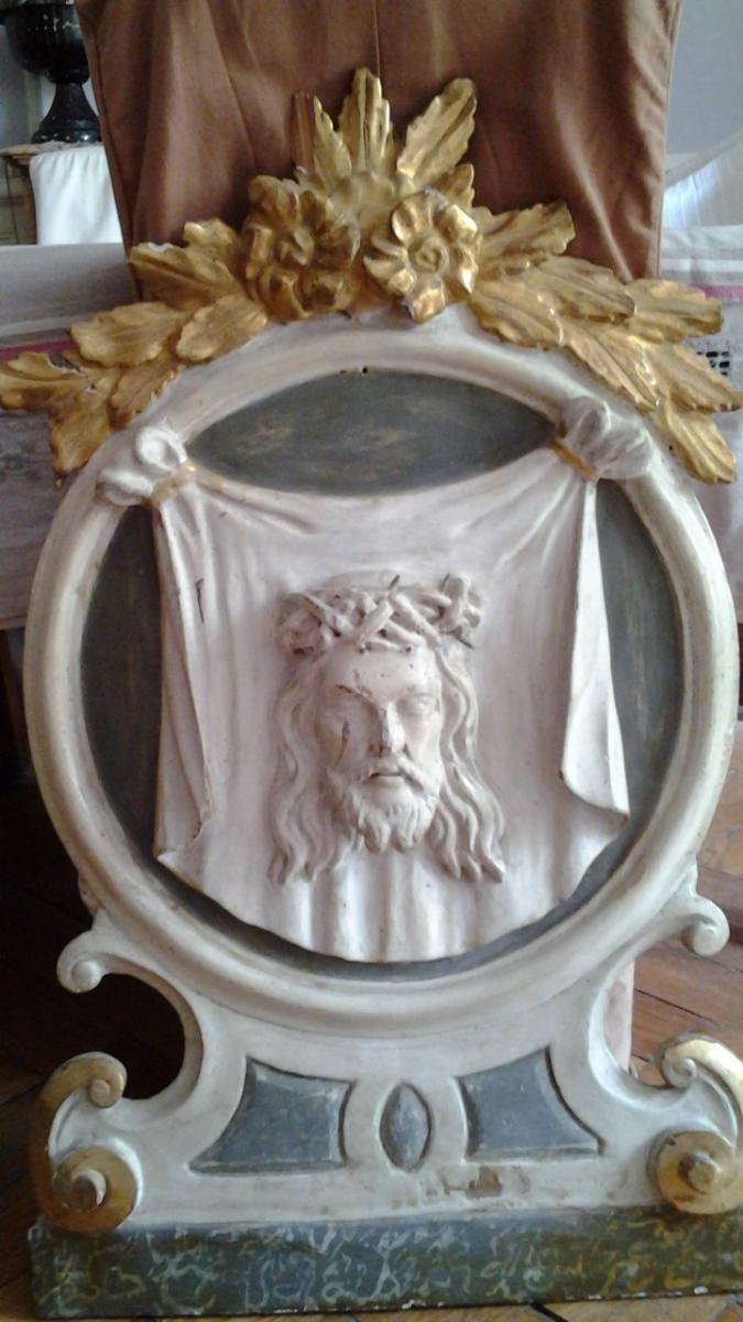 Saint Suaire Polychrome Du XVIII° Siècle