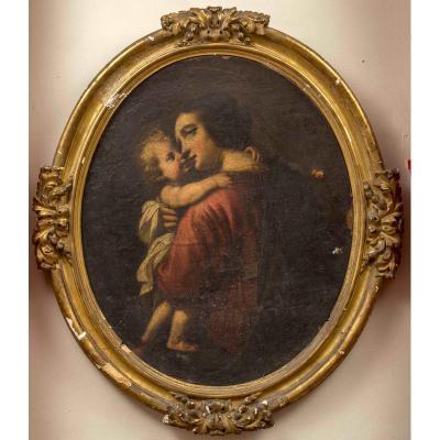 Vierge à l'Enfant, Ecole Française Provençale V.1640