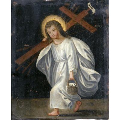 Jésus Portant La Croix, Ecole Française Vers 1630