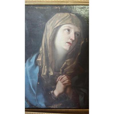 Vierge de Miséricorde, Ecole Italienne Du XVIII° Siècle