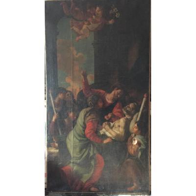 Ecole Bolonaise Vers 1700, Mort De Saint Joseph