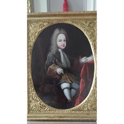 Portrait De Luis 1er d'Espagne, Miguel Jacinto Meléndez