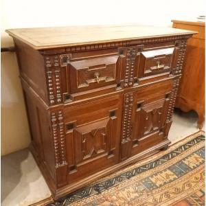 Cabinet Flamand Rustique En Chêne