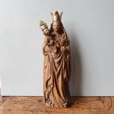 Vierge À l'Enfant, XVe