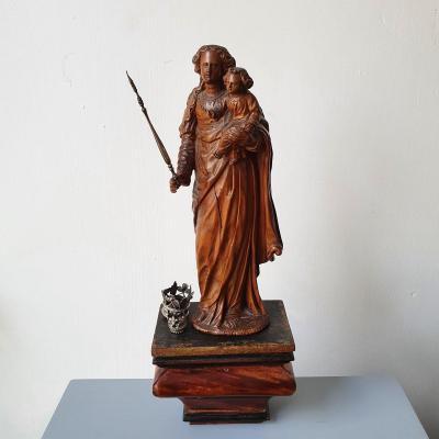 Madonna With Child,  Mechelen, 17th Century
