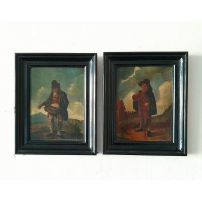 Peintures Pendentif Hollande, XVIIIe