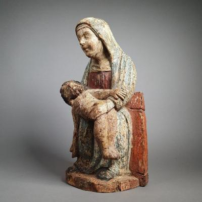 Pietà, Rhineland Around 1330.