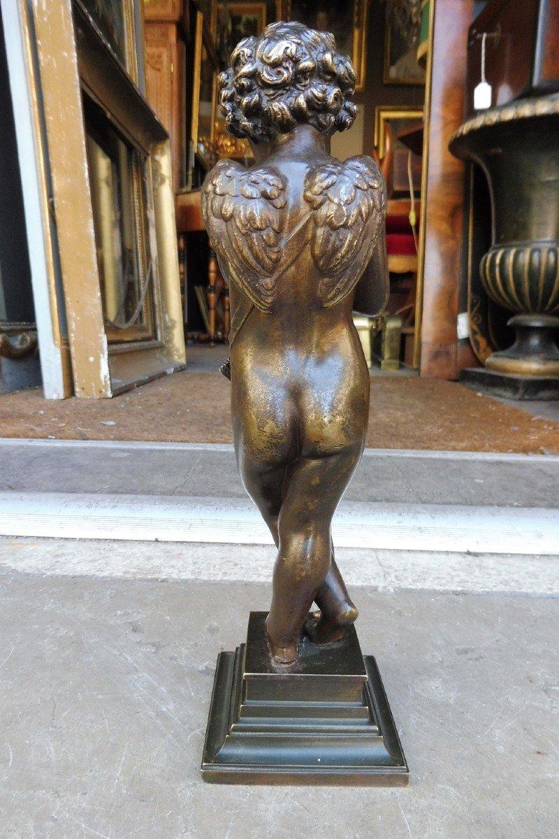 Sculpture  En  Bronze  Signée Alfred Habert  -photo-2