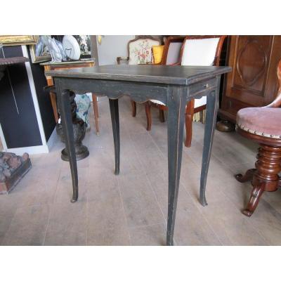 Table Volante Laquée Noir