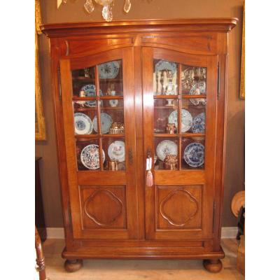 armoire de présentation alsacienne