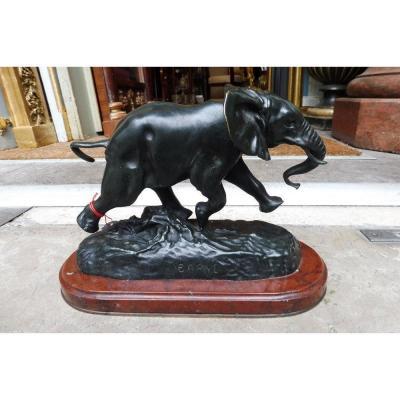 Bronze Sculpture Signed Barye