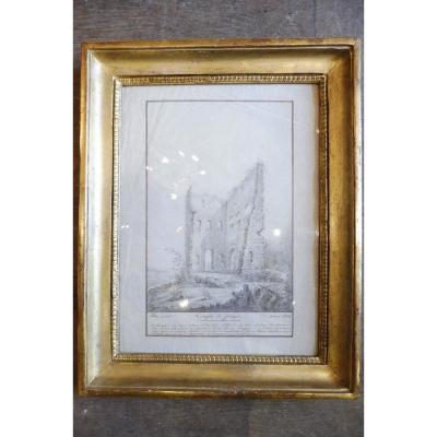 Dessin Au Crayon Daté 1803