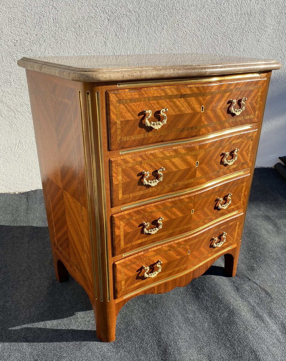 Small Regency Style Commode
