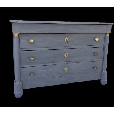 Patinated Empire Commode