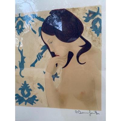 Alain Bonnefoit, Lithographie