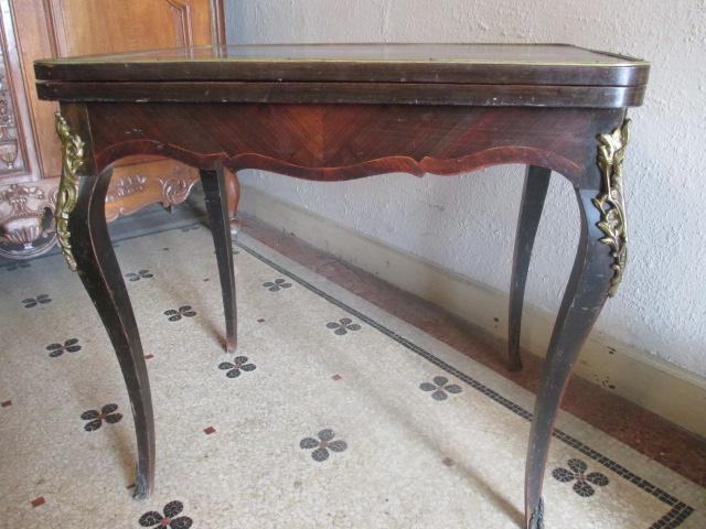 Table à jeux  Napoleon III